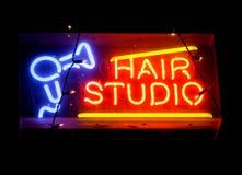 Hair studio sign Stock Photography