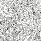 Hair style background. Vector set. Stock Photography