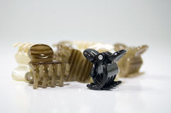 Hair Style Clips stock photography