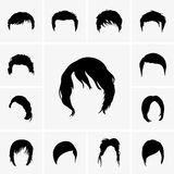 Hair Style Royalty Free Stock Image