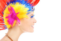 Hair style Royalty Free Stock Photos