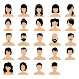 Hair styles Royalty Free Stock Image