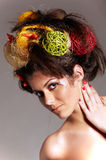 Hair Styling Royalty Free Stock Photography