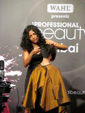 Hair Styling by Itty Agarwal. Hair styling was done by Itty Agarwal, Event - Professional Beauty Expo 2015, Mumbai Date - 6th Oct 2015 stock photos