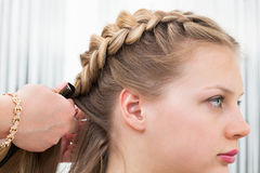 Hair styling Stock Image