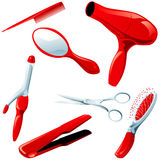 Hair styling necessities Stock Photo