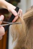 Hair stylist Royalty Free Stock Photo