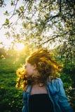 Hair in the sun. Field Stock Photography