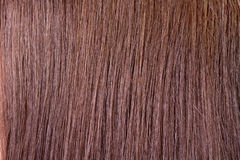 Hair texture. Brown human hair texture abstract background Stock Images