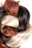 Hair texture. Beautiful shiny healthy hair texture Stock Image