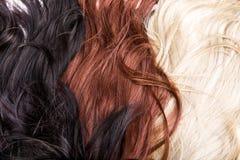 Hair texture. Beautiful shiny healthy hair texture Stock Photos