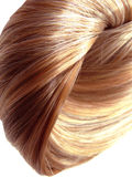 Hair texture abstract fashion background Royalty Free Stock Photo