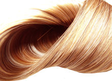 Hair texture abstract fashion background Stock Photography