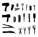 Hair tools Stock Images