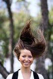 Hair up Royalty Free Stock Image