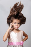 Hair up Royalty Free Stock Images