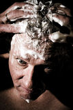 Hair washing Royalty Free Stock Photos