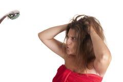 Hair washing Stock Photos