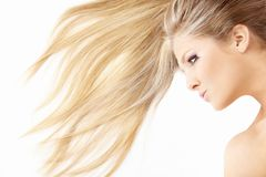 Hair waves royalty free stock photos