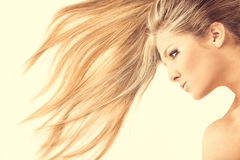 Hair waves royalty free stock image