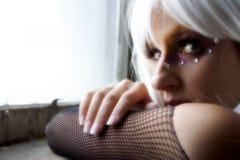 hair white woman Στοκ εικόνα με δικαίωμα ελεύθερης χρήσης