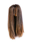 Hair wig isolated Royalty Free Stock Photos
