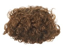 Hair wig isolated Stock Photos