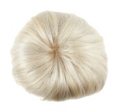 Hair wig isolated Royalty Free Stock Image