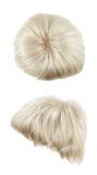 Hair wig isolated Stock Images