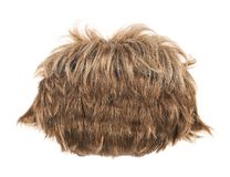 Hair wig isolated Stock Photography