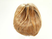 Hair wig. Modern Hair wig for womans Royalty Free Stock Photography
