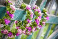 Hair wreath Royalty Free Stock Image