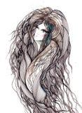 hairball ilustracja wektor