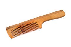 hairbrush деревянный Стоковое Изображение RF