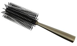 Hairbrush. 3D rendered hairbrush on white background isolated Royalty Free Stock Photo