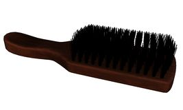 Hairbrush. 3D rendered hairbrush on white background isolated Stock Photo
