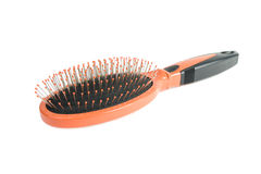 Hairbrush. Images stock