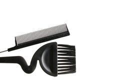 Hairbrush And Brush Royalty Free Stock Photos