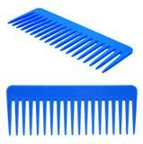 Hairbrush blu immagini stock libere da diritti