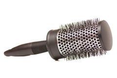 Hairbrush czarny piękno Obrazy Royalty Free