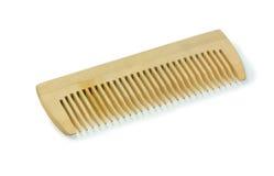 Hairbrush de madeira Fotografia de Stock