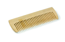 Hairbrush di legno Fotografia Stock