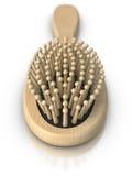 Hairbrush di legno royalty illustrazione gratis