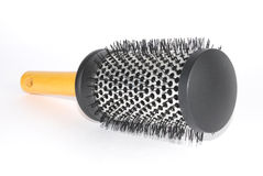 Hairbrush di massaggio immagini stock libere da diritti