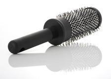 Hairbrush en métal Images libres de droits