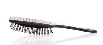 Hairbrush for girls Stock Images