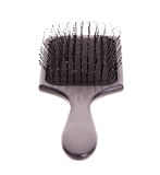 Hairbrush for girls Royalty Free Stock Images