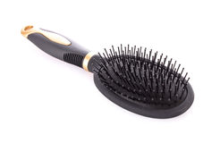 Hairbrush isolated Royalty Free Stock Photography
