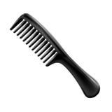 Hairbrush isolato su priorità bassa bianca illustrazione vettoriale