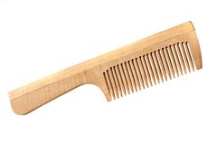 Hairbrush on white Stock Images